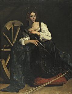 Santa Catalina de Alejandría,1599. Museo Thyssen-Bornemizsa,Madrid.