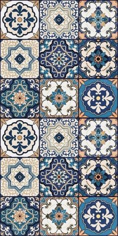 Hottest Photo Ceramics Tile morrocan Popular The installation of porcelain tile might be tricky. Successful tiling tasks are a principal reaction Moroccan Tiles, Moroccan Decor, Moroccan Pattern, Moroccan Interiors, Turkish Tiles, Moroccan Bedroom, Tile Patterns, Pattern Art, Pattern Designs