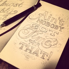 Type sketches by Graeme Offord, via Behance