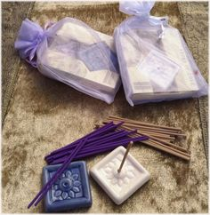 Incense for a south asian wedding favor