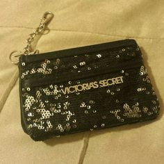 Victoria Secret  sequin change purse Victoria Secret sequin change purse Victoria's Secret Bags Clutches & Wristlets