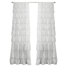 Roxanne Curtain in White