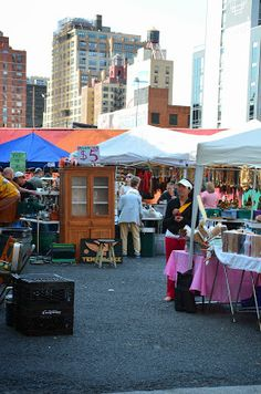 the Hell's Kitchen Flea Market!  It takes place every Saturday & Sunday from 9am-5pm in New York City.