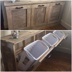 Wood Work, Laundry Room, Diy Home Decor, Woodworking, Bathroom, Storage, Furniture, Home, Washroom