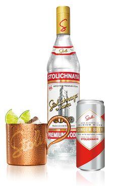 Image result for stoli ginger beer
