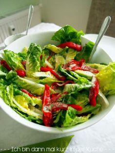 Dressing radicchio salat