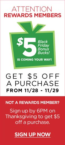 Rack Room Shoes Black Friday #Shopping Deal /// Get $5 Off A Purchase Only from 11.28 -11.29