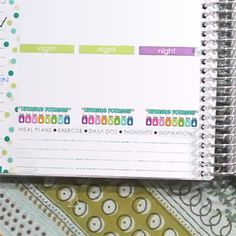 Monthly Bill Tracker Planner Event Labels by roxyadpi on ...