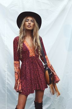 PINTEREST: The Trendy Individual Hippie | Bohemian | chic | Gypsy | style | fashion | Festival | Women's