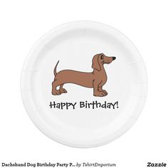 Dachshund Dog Birthday Party Paper Plates  sc 1 st  Pinterest & Black Lab Puppy Birthday Party Paper Plates | Lab puppies Labs and ...