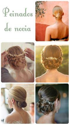 Peinados de novia con el cabello recogido