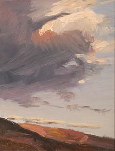 peter campbell - sunset ridge, the Meyer east gallery