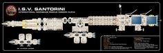 Space 1999 Commission - Santorini Probe by *thomasthecat on deviantART