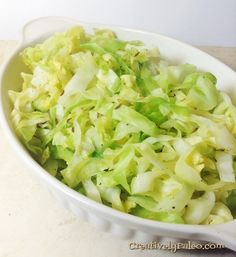 This cabbage recipes is so simple that I feel almost silly posting it. Don't let its simplicity fool you though, it tastes absolutely delicious, so much so that even my 5 year old joyfully ate up all of the cabbage on her plate! Yes, you read that right, a 5 year old ate cabbage joyfully!