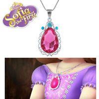 Princess Sofia the First Elena Non Slip Comfy Tiara /& NEW Pink Amulet of Avalor