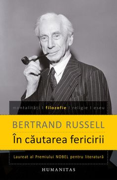Bertrand Russell: In cautarea fericirii Einstein, My Books, Reading, Mai, Literatura, Word Reading, The Reader, Reading Books, Libros