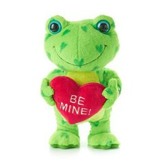 Hearts A-Hoppin' Frog interactive stuffed animal