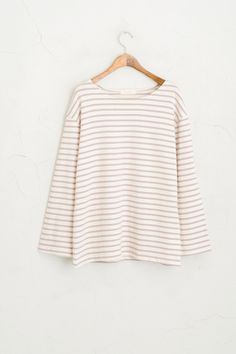 Discover the latest in our collection Olive Clothing, Bell Sleeves, Bell Sleeve Top, Striped Tee, Pastel, Purple, Tees, My Style, Clothes