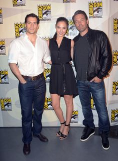 Henry Cavill and Ben Affleck in one picture? Too hot.