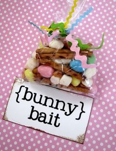 "How to make 'Bunny Bait"" ... so cute!"