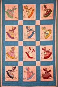 Sunbonnet Sue Quilt pattern    Fairhope Supply Co.