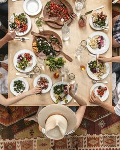 Pottery Barn teamed up with Offbeat + Inspired to create a video on late Summer entertaining.