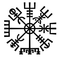 Vegvisir-The Runic Viking Compass -Symbol of Protection #TattooIdeasSymbols