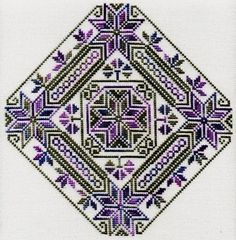 Southern Stars - Cross Stitch Pattern - Biscornu