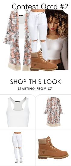 """""""~~Qotd 2~~"""" by be-you-tiful-flower ❤ liked on Polyvore featuring MANGO, Timberland, women's clothing, women, female, woman, misses, juniors and jayseek"""