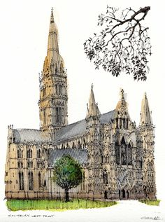 Salisbury Cathedral | by wanstrow