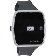 Nixon Men's Sentry A106000 Black Silicone Quartz Watch