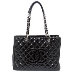 b59946342730 modaselle - Chanel Black Patent Grand Shopping Tote GST, CAD $2,900.00  (http:/