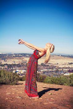 My latest photo shoot: hippie haute gypsy!