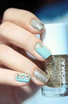 Khroma Nail polish and Hex Nail Jewelry