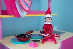 Elf on the shelf ideas by Dazzling Hospitality