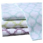 Found it at Wayfair - <strong>Intelligent Design</strong> Ogee 200 Thread Count Cotton Sheet Set (Set of 4)