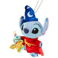 IS SO AWESOME! Alex's favorite character mixed with mine! Stitch as Sorcerer Mickey From Japan's Disney Store Disney Plush, Disney Toys, Disney Movies, Disney Magic, Disney Art, Baymax, Toothless And Stitch, Sakura Card Captor, Ghibli
