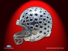 Ohio State Football Buckeyes 11 x Photo Print Ohio State Football Helmet, Buckeyes Football, Oregon Ducks Football, Ohio State Buckeyes, Football Helmets, Oklahoma Sooners, Alabama Football, American Football, College Football