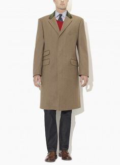 Lovat Covert Coat, Slim Fit