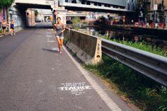 Nike Chasing Highs // Stencils // #Nike #Run // Milano