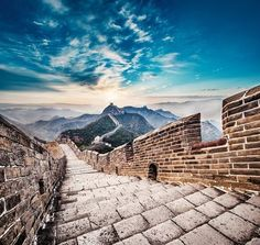 One of the most beautiful stairs! Beautiful Stairs, Beautiful World, Most Beautiful, Great Wall Of China, Ancient China, World Traveler, Stairways, Mother Earth, Travel Photography