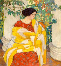 «На балконе», 1910