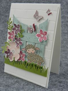 Stamp-ing: maart 2016 Easter Lamb, Graduation Cards, Pop Up Cards, Flower Cards, Stampin Up Cards, Bricks, Decorative Boxes, Card Crafts, Easter Ideas