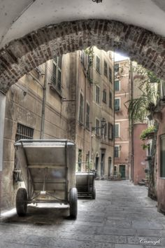 Camogli Alley.by Farone Domenico