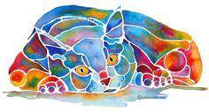 Calypso Cat .. Jo Lynch