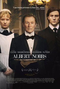 アルバート氏の人生 ★★★★ 邦題のアルバート氏は間違っているような。 それなら、ノッブス氏の人生でいい。 グレン・クローズが長年熱望して映画化されただけあって、素晴らしかったが、それにもまして、ジェネット・マクティアの演技は素晴らしいかった!