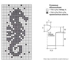 Seahorse diagram (filet work)