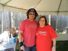wanda cruff with christian kane crockettsville sept 7 2013  please keep credit when repinning!