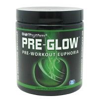 Pre-Glow is a unique dietary supplement that increases athletes' energy and focus while encouraging the body's natural production of nitric oxide. Pre-Glow is ideal for any exercise enthusiast. Working in concert with strength, endurance and performance enhancers, Pre-Glow targets consumers who are looking for energized workouts, euphoria and results.