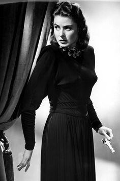 Ingrid Bergman in Notorious (1946)  Costume design by Edith Head